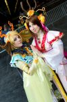 Fushigi Yuugi - Miaka and Yui priestess by Bunnymoon-Cosplay