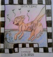 4/712 2015 Drawing Challenge: Smelly Cat by Kristina-Henderson