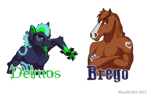 Anthro Badges by WindWo1f