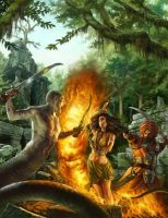 The Jeweld Kingdoms Cover by Rhineville