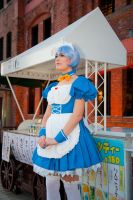 Maid Rei by Rinaca-Cosplay