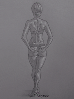 Figure Drawing #40 by AngelGanev