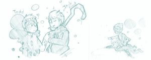 Request- Todd and Jack frost by Cheapcookie