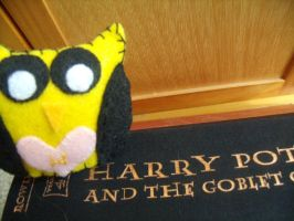 Harry Potter Hufflepuff Owl Plush by Muffinseatfood