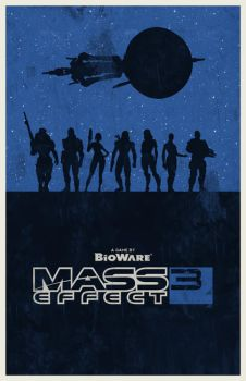 Mass Effect 3 poster by billpyle