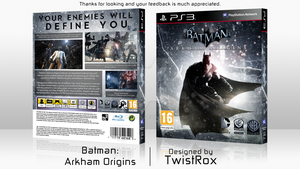 Batman: Arkham Origins by TwistRox