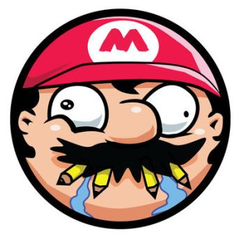 Mario Art Sticker by SketchMonster1