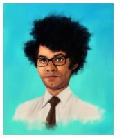 Moss - The IT Crowd by traumtaenzer