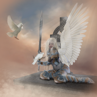 Angel of Peace by CaperGirl42
