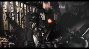 Iron Man Special Force by XB21