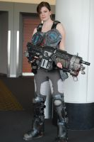 Gears of War Cog Cosplay Full Body Shot by LadySnip3r