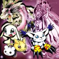 Gatomon Evolution by xLady-Mizu