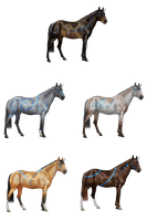 Spirit Horse Herd - Eclecticlisias by mapal