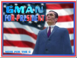 GMan For President by Donitz