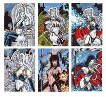 Lady Death Artist Exclusives by tonyperna