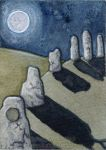 Ancient Ruins ACEO by The-Fey-Haven