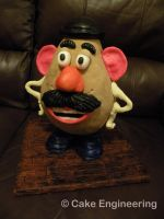 Mr. Potato Head Cake by cake-engineering