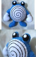 Poliwhirl Plush Comission by P-isfor-Plushes
