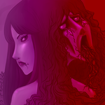Portrait of Tomie by vonvonz
