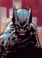 Batman Sketch Card 2 by Sigint