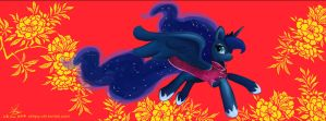 Happy Luna New Year 2014 by Chirpy-chi