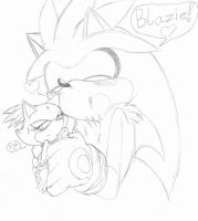 Silvaze sketch by SonicMiku