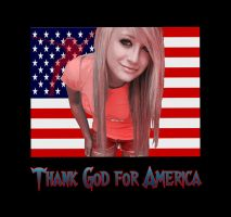 Thank God for America by metamorphacilles