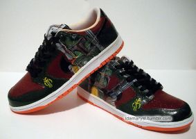 Boba Fett Nike Dunks by LnknPrk7Snoopy
