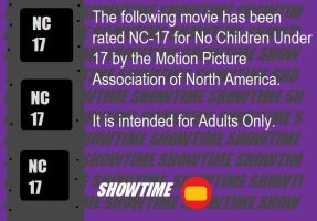 Showtime M.P.A.N.A. Rating Notice (NC-17) by BuddyBoy600