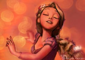 Kingdom Dance - Tangled by ChristyTortland