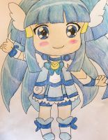 Glitter Force Chibi Series Breeze by Lea Voegeli by CaptainMockingjay
