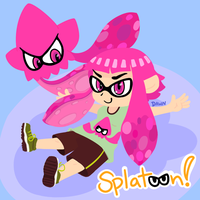 Splatoon by KyzaCreations