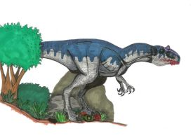 Dino Crisis Allosaurus by All-Crazy-Reptiles