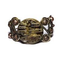 Steampunk Bracelet Apocalyptic by CatherinetteRings