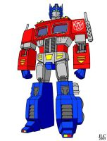 Optimus Prime by Jochimus