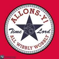 'ALLONS-Y All Wibbly Wobbley' by RanDoom by Teebusters