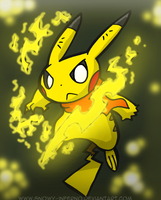 Pika Power by snowy-inferno