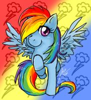 Rainbow Dash by Lisiu