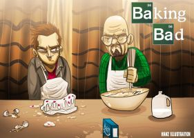 Baking Bad by hanzthebox