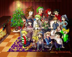 Pokemon Special X-mas Collab Final version 2011 by MokaSooN