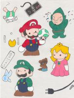 Wii love Nintendo by Aludra