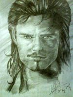 Big Face Orlando Bloom by KinKiat