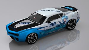 Touhou Racing Carson GT by skytire