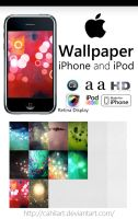 Wallpaper mini pack for iPod by CaHilART