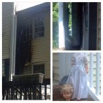 Lightning Damage to the House by Maddster74