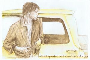 The boy with the Yellow Truck by DontSpeakSilent