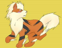Arcanine by PaperSquid