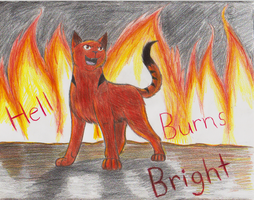 Dragonpaw- Hell Burns BRIGHT by MiaMaha