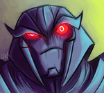TF Friend Portraits: Megs for Jee by Succubii