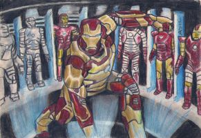 Iron Man Showroom by kill312